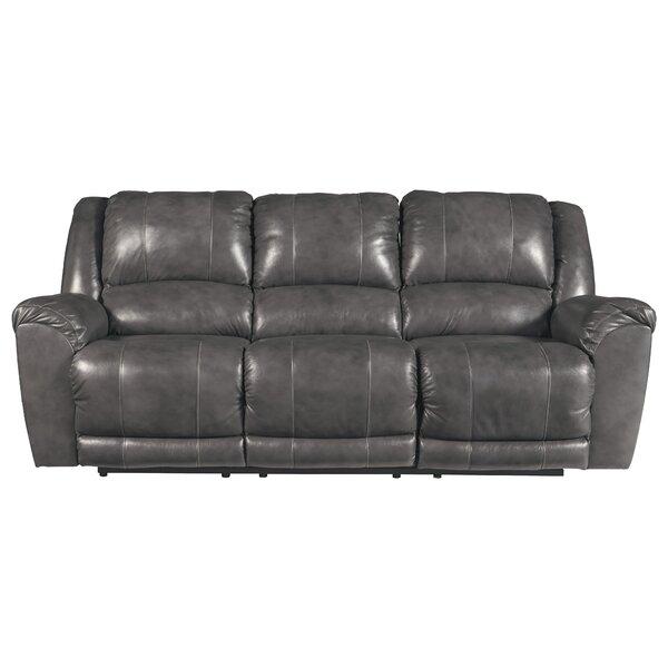 2e8e400b98ae Natuzzi Leather Sofa Recliner | Wayfair