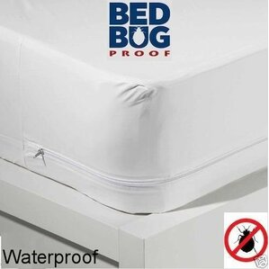 Ultra Soft Fabric Hypoallergenic Waterproof Mattress Protector with Zipper by Alwyn Home