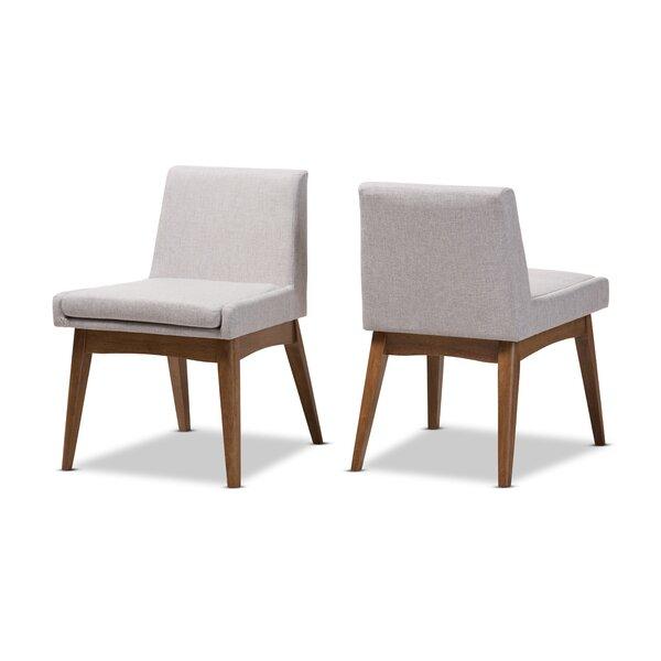 Attirant Brayden Studio Stallman Mid Century Modern Upholstered Dining Chair U0026  Reviews | Wayfair