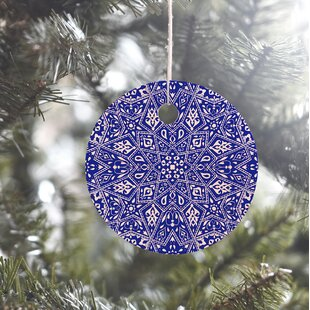blue ornament - Navy Blue Christmas Decorations