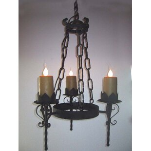 Gothic chandelier wayfair gothic 3 light candle style chandelier aloadofball Gallery