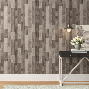 Brought Weathered Wood 16 5 L X 20 W And Stick Wallpaper Roll