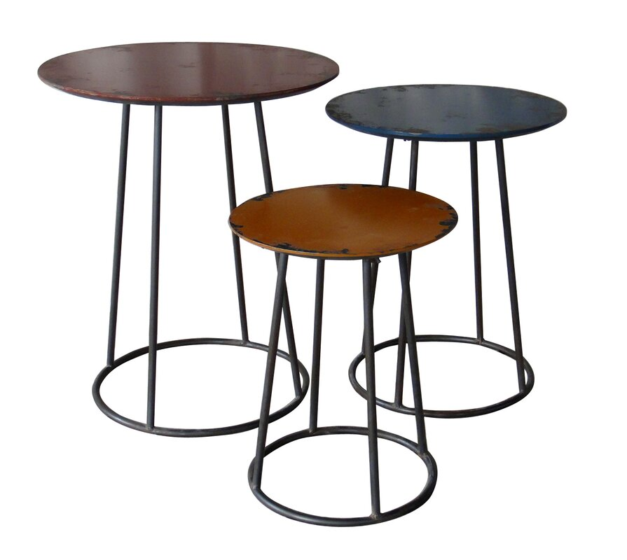 Chisos 3 Piece End Table Set