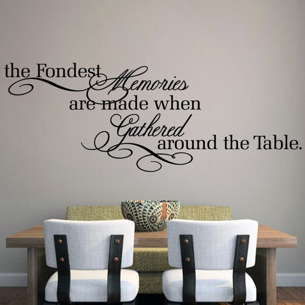 Sweetumswalldecals The Fondest Memories Wall Decal