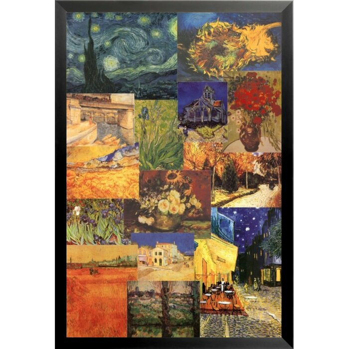Buy Art For Less \'Celebrating 150 Years of Vincent Van Gogh Poster ...