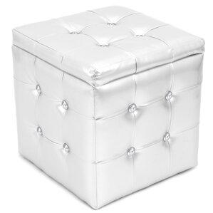 Olivianna Pouf Cube Ottoman by Latitude Run