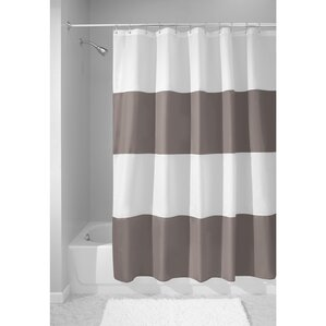 brown and white shower curtain. Zeno Shower Curtain Brown Curtains You ll Love  Wayfair