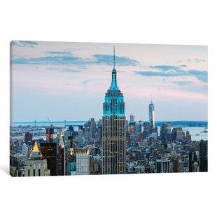 e2c54f4cbb3 Modern   Contemporary New York City Skyline Wall Art