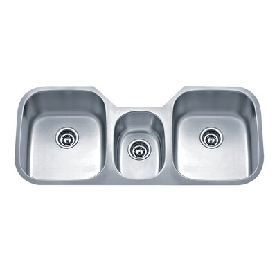 Speciality Series 45 88 X 20 75 Triple Bowl Kitchen Sink