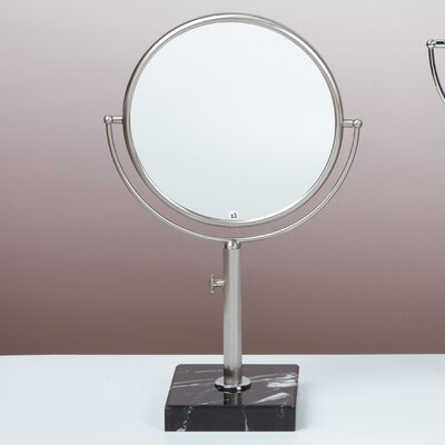 Adjustable Height Magnifying Mirror Wayfair