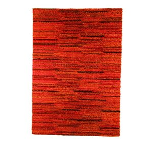 Mat Mix Hand-Woven Rust Area Rug