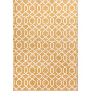 Sydney Geo Helix Gold Area Rug