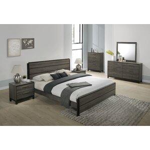 6 piece bedroom set. Mandy Platform 6 Piece Bedroom Set Queen  Wayfair