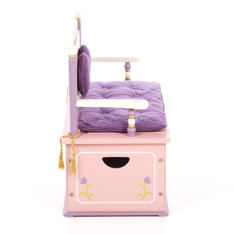 Wildkin Wildkin Kids Princess Bench Seat Storage Amp Reviews