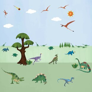 Peel And Stick Dinosaur Wall Decal