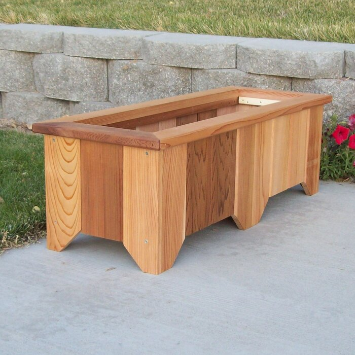 Woodcountry Cedar Planter Box Reviews Wayfair Ca