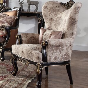 Traditional Armchair by BestMasterFurniture