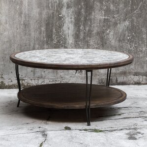 Kaylin Rustic Coffee Table by 17 Stories