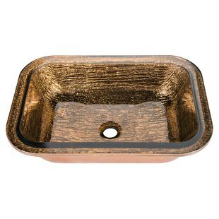 Corstone Blue Copper Bathroom Sink | Wayfair