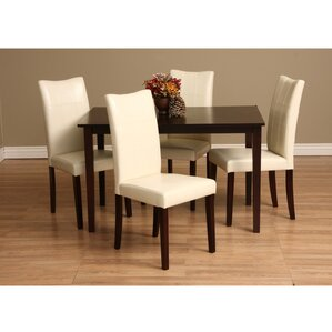 Etelvina 5 Piece Dining Set by Red Barrel Studio