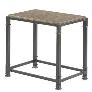 2 Piece Belinda Reclaimed Wood Nesting Table Set