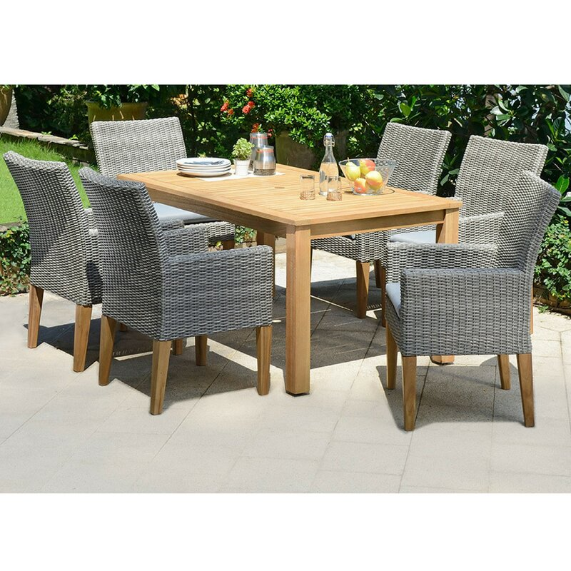Delane 6 Seater Dining Set With Cushions
