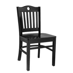 Herzig Solid Wood Dining Chair (Set of 2)