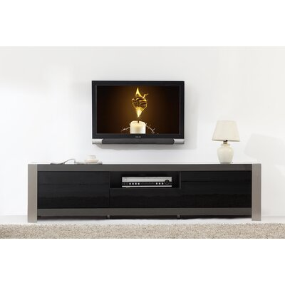 B-Modern Coordinator TV Stand for TVs up to 78 Color: Grey