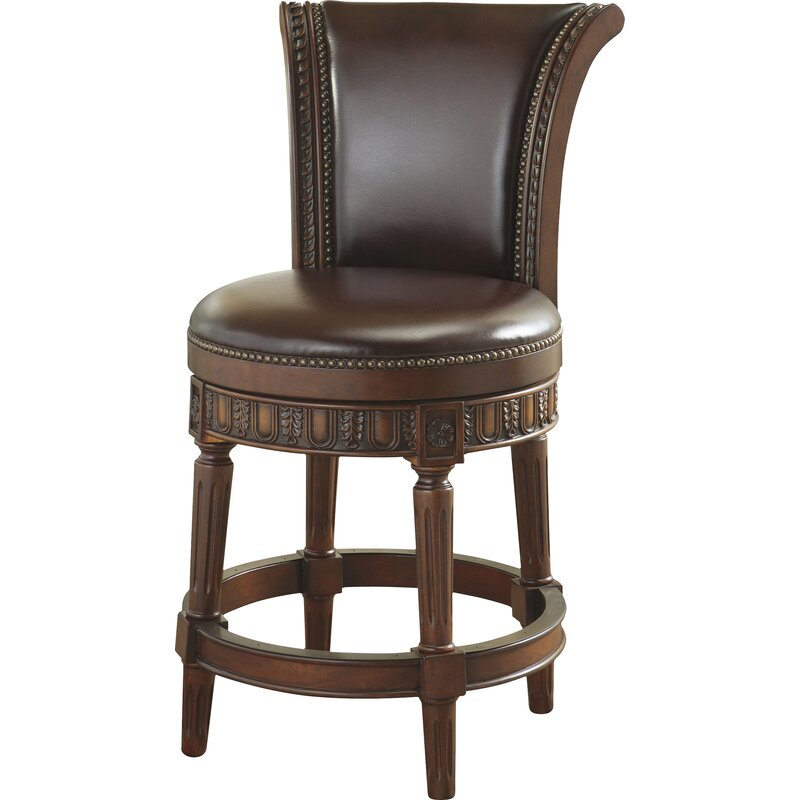 Fleur De Lis Living Alresford Swivel 25 Bar Stool Wayfair