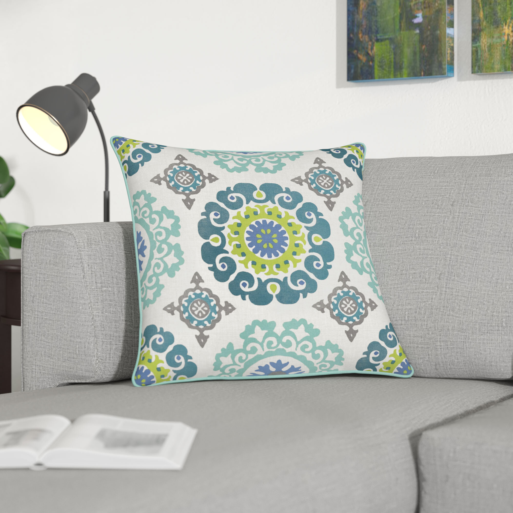 Winston Porter Strope Cotton Pillow Cover Reviews Wayfair