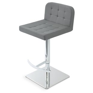 Adjustable Height Swivel Bar Stool