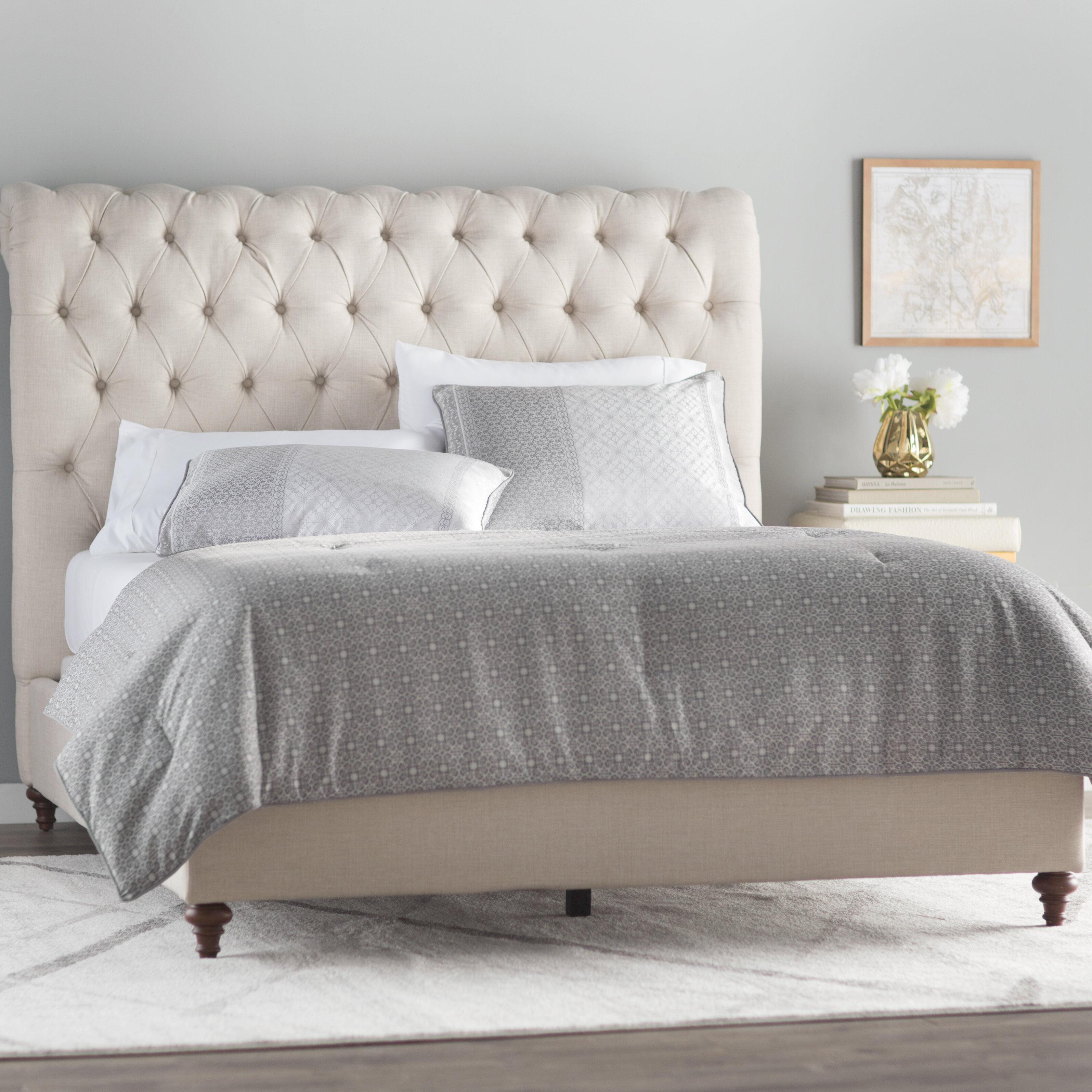 furniture pdx acme wayfair sleigh rebekah bed upholstered