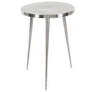 Faynett Aluminum End Table by Bloomsbury Market