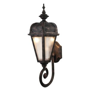 Kiss Series 1-Light Outdoor Sconce