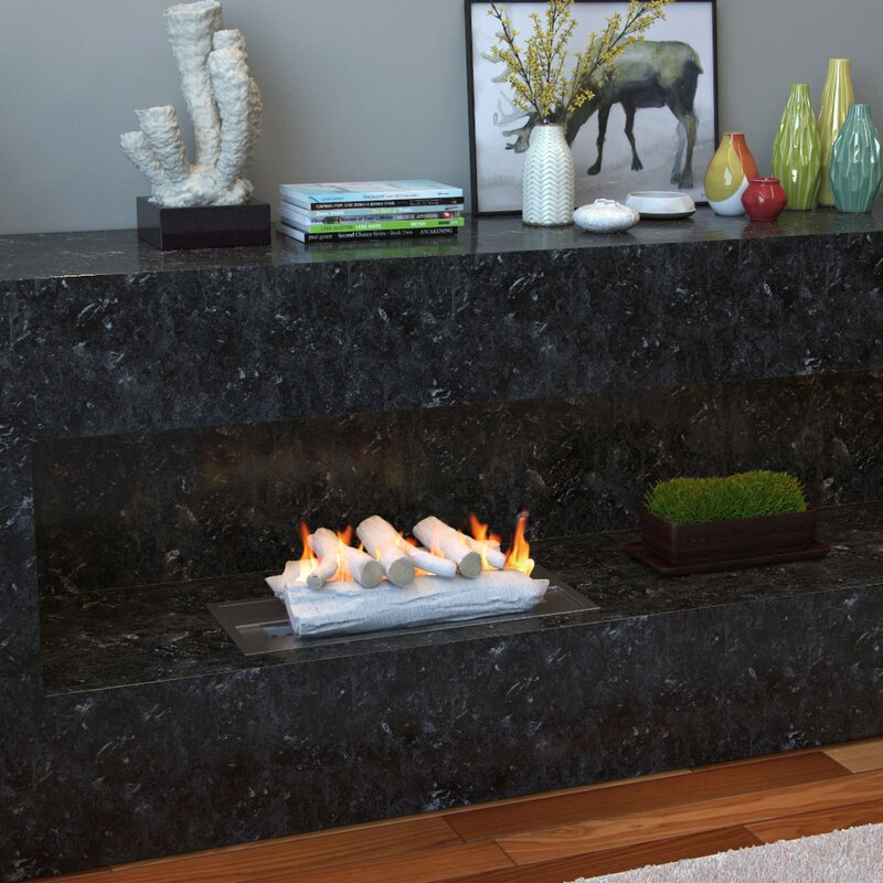 fireplace logs modern extraordinary for and gas replacement ceramic outdoor