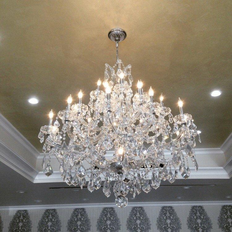 Kiazolu 28 light crystal chandelier