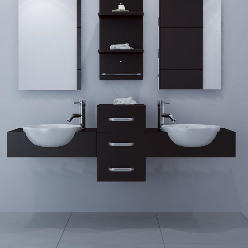 59 bathroom vanity double sink. Modus 59  Double Bathroom Vanity JWH Living Reviews Wayfair