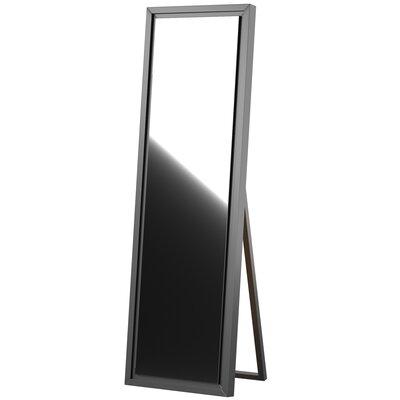 Mercury Row Loeffler Full Length Mirror Finish: Walnut Brown