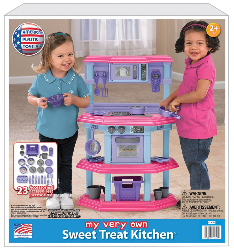 American plastic toys 23 piece my very own sweet treat kitchen set 23 piece my very own sweet treat kitchen set teraionfo