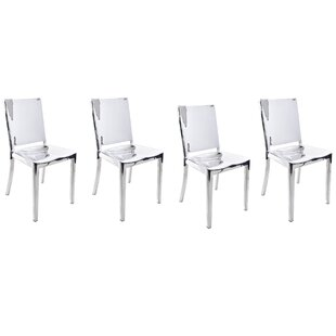 Portillo Arm Less Dining Chair (Set of 4)