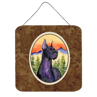 Great Dane Painting Print Plaque