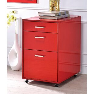 Red Filing Cabinets Youu0027ll Love | Wayfair