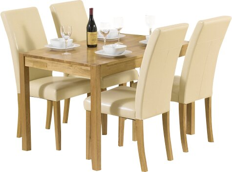 Home Etc Pria Cambridge Dining Set With 4 Chairs Amp Reviews