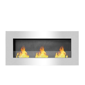Brewerytown Recessed Wall Mount Ethanol Fire..