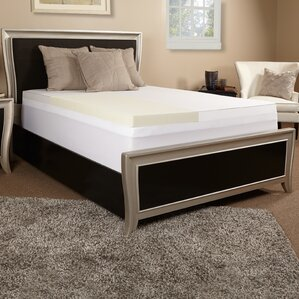 "Jerry 2"" Memory Foam Topper with 300 TC Cover"