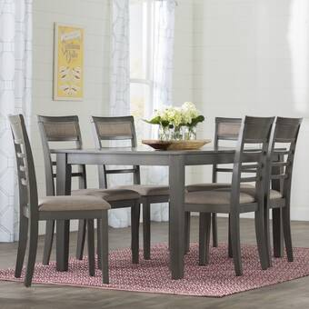 Beachcrest Home Lehigh Acres 7 Piece Dining Set U0026 Reviews ...