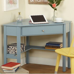 Genial Teal Corner Desk | Wayfair