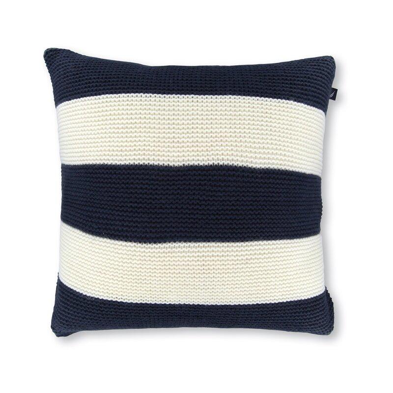 Nautica 40 Crew Striped Knit Decorative Throw Pillow Reviews Inspiration Decorative Throw Pillows With Birds
