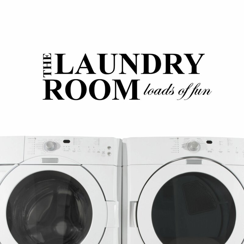 The Laundry Room Loads Of Fun Decal Interesting Decalthewalls The Laundry Room Loads Of Fun Wall Decal & Reviews Review