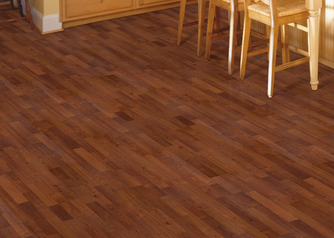 Mohawk Fieldview 8 x 47 x 7mm Cherry Laminate Flooring in Sunset